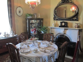 McAllister House Museum Tour; Out & About