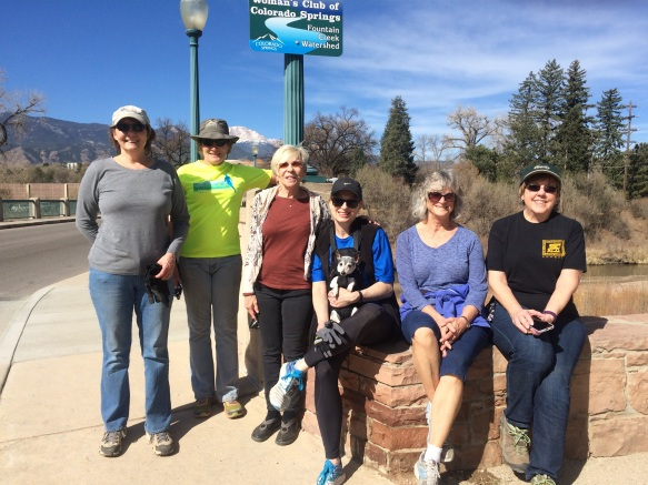 Mar. 2017 Pikes Peak Greenway Trail Cleanup