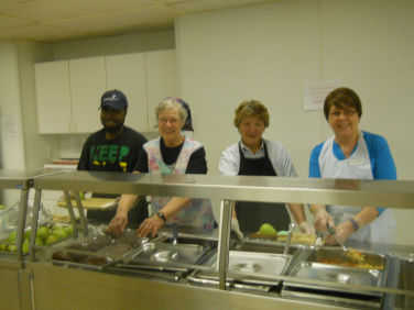 Golden Circle Nutrition Program; Volunteer Week - Golden Circle Nutrition Program; WCCS in 2017